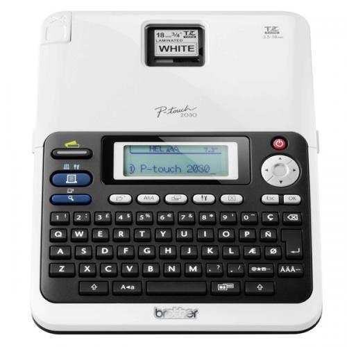 Brother Etiket Yazıcısı P-Touch 6-18 MM Baskı 2030VP