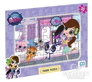CA Games Littlest Petshop - Frame Puzzle 1 (35 Parça)