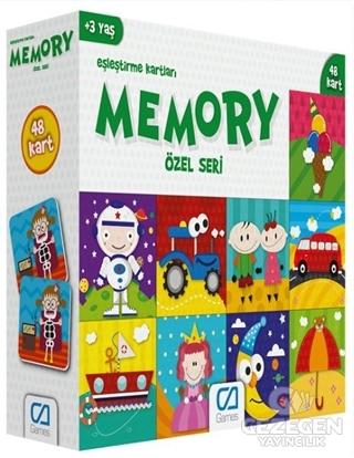 CA Games Özel Seri - Memory Eşleştirme Kartları