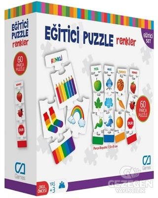 CA Games Renkler - Eğitici Puzzle