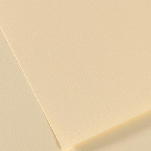 Canson Fon Kartonu (Dokulu) Mı-Teıntes 25 Lİ 50x65 160 GR 101 Pale Yellow 200321274