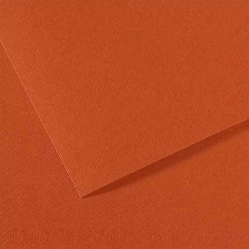 Canson Fon Kartonu (Dokulu) Mı-Teıntes 25 Lİ 50x65 160 GR 130 Red Earth CA90130