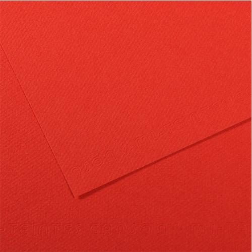 Canson Fon Kartonu (Dokulu) Mı-Teıntes 25 Lİ 50x65 160 GR 506 Poppy 200321254