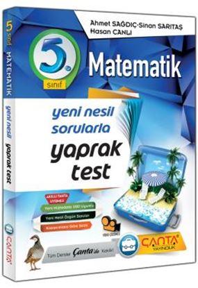 Çanta 5.Sınıf Yaprak Test Matematik