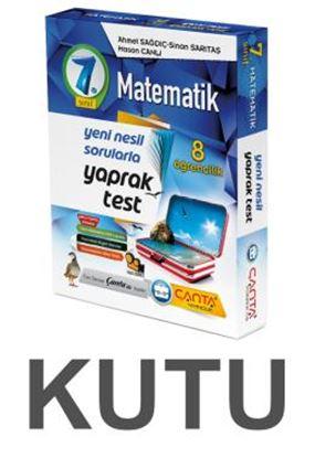 Çanta 7.Sınıf Kutu Yaprak Test Matematik