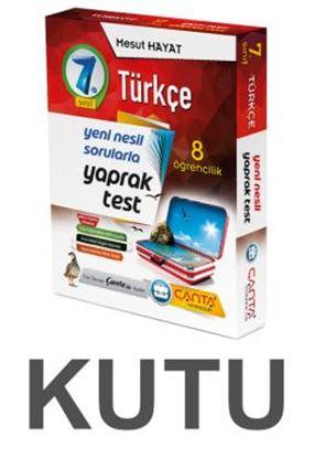 Çanta 7.Sınıf Kutu Yaprak Test Türkçe