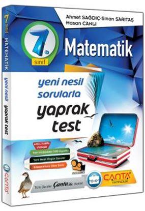 Çanta 7.Sınıf Yaprak Test Matematik