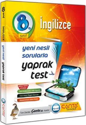 Çanta 8.Sınıf Yaprak Test İngilizce