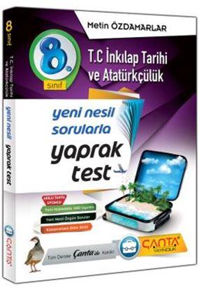 Çanta 8.Sınıf Yaprak Test Tc.İnkılap Tarihi Ve Atatürkçülük