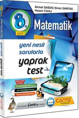 Çanta Yayınları 8. Sınıf LGS Matematik Yaprak Test