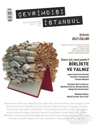 Çevrimdışı İstanbul Üç Aylık Edebiyat Dergisi Sayı: 11 2018