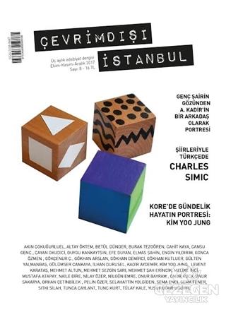 Çevrimdışı İstanbul Üç Aylık Edebiyat Dergisi Sayı : 8 Ekim - Kasım - Aralık 2017