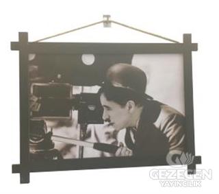 Charlie Chaplin Ahşap Tablo Kod - 000001