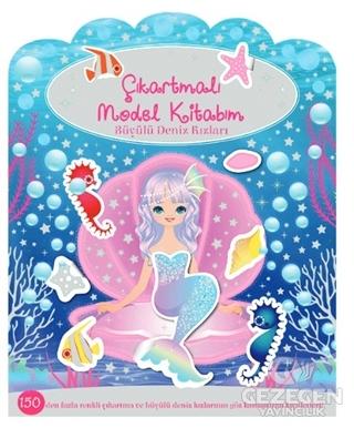 Çıkartmalı Model Kitabım - Büyülü Deniz Kızları