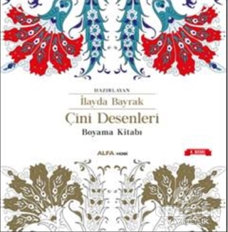Çini Desenleri Boyama Kitabı