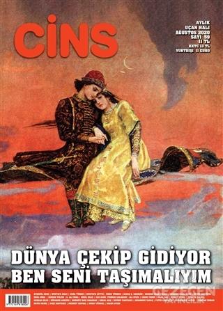 Cins Aylık Kültür Dergisi Sayı: 59 Ağustos 2020