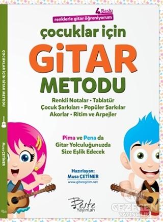 Çocuklar İçin Gitar Metodu - Renklerle Gitar Öğreniyorum
