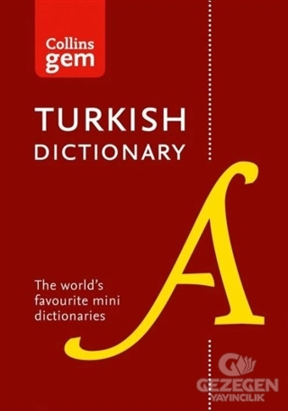 Collins Gem English - Turkish Türkçe-İngilizce Dictionary (2nd Edition)
