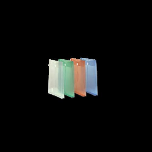 Comix Cırtcırtlı Dosya Körüklü Dikey Şeffaf Renkler F118A