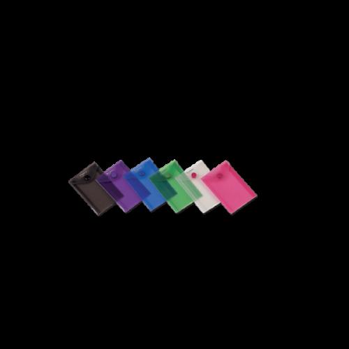Comix Çıtçıtlı Dosya A7 Şeffaf Renkler A1857