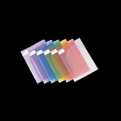 Comix Dosya Çift Taraflı 22x30.7 Şeffaf Renkler A1752