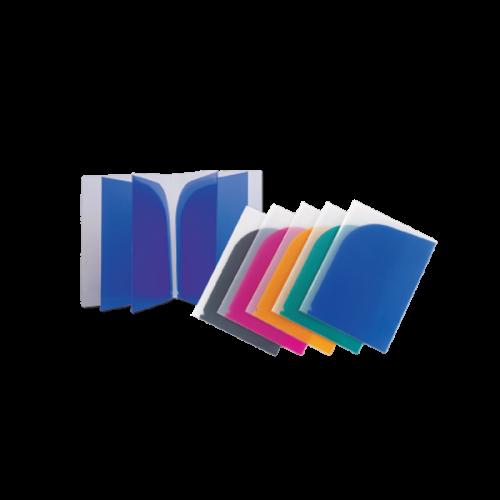 Comix L Tipi Dosya 8 Lİ Şeffaf Renkler A1729