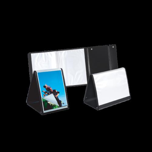 Comix Prezentasyon Dosyası Yatay 40 LI A4 Siyah SV6007-2