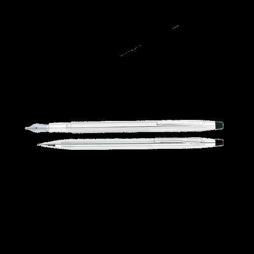 Cross Takım Kalem Dolma+Versatil Century Parlak Krom AT0087-74MS