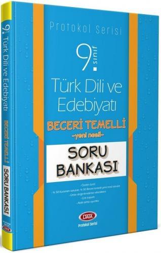 Data 9. Sınıf Türk Dili ve Edebiyatı Beceri Temelli Soru Bankası Protokol Serisi Data Yayınları