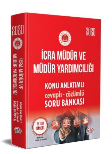 Editör 2020 İcra Müdür ve Yardımcılığı Konu Anlatımlı Soru Bankası Çözümlü Editör Yayınları