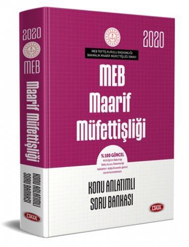 Data 2020 MEB Maarif Müfettişliği Konu Anlatımlı Soru Bankası Data Yayınları