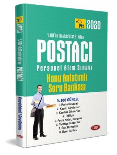 Data 2020 PTT Postacı Personel Alımı Mesleki Alan 2. Kitap Konu Anlatımlı Soru Bankası Data Yayınları