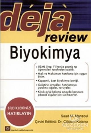Deja Review - Biyokimya