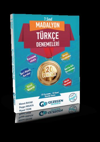 7. Sınıf Madalyon Türkçe 10'lu Denemeleri