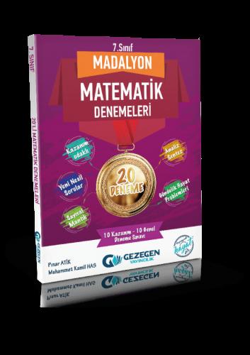 7. Sınıf Madalyon Matematik 10'lu Denemeleri