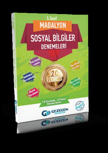 5. Sınıf Madalyon Sosyal Bilgiler-20 Deneme