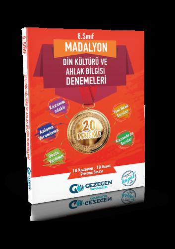 8. Sınıf Madalyon Din Kültürü ve Ahlak Bilgisi 20'li Denemeleri Gezege
