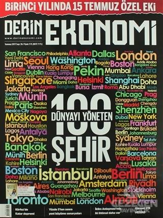 Derin Ekonomi Aylık Ekonomi Dergisi Sayı: 26 Temmuz 2017