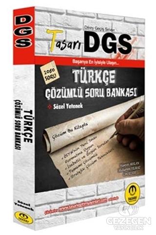 DGS Türkçe Sözel Yetenek Çözümlü Soru Bankası