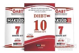 DHBT 3'lü Deneme Seti
