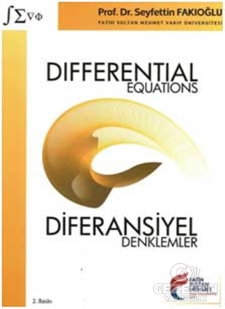 Differential Equations / Diferansiyel Denklemler