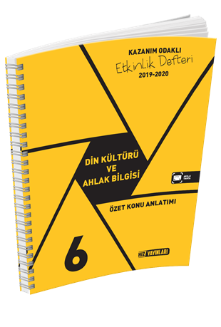 6. Sınıf Din Kültürü Ve Ahlak Bilgisi Özet Konu Anlatımlı Etkinlik Kitabı