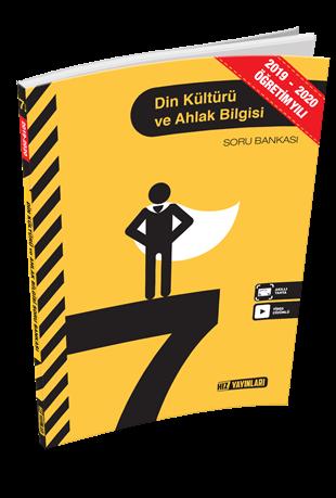Hız Yayınları 2020 7. Sınıf Din Kültürü ve Ahlak Bilgisi Soru Bankası Hız Yayınları