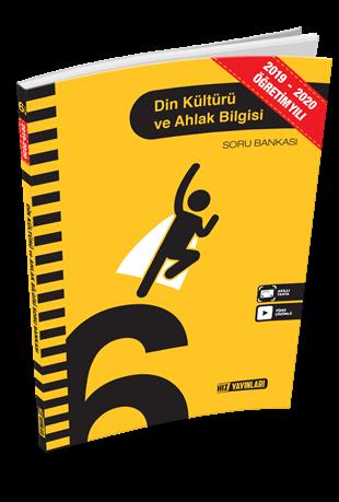 Hız Yayınları 2020 6. Sınıf Din Kültürü ve Ahlak Bilgisi Soru Bankası Hız Yayınları