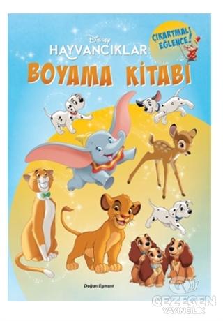 Disney Hayvancıklar Boyama Kitabı