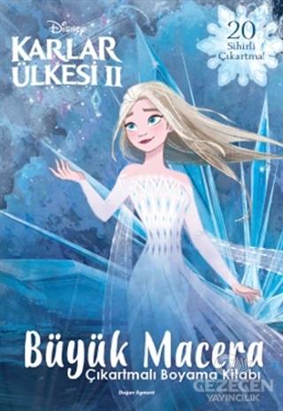 Disney Karlar Ülkesi 2 - Büyük Macera Çıkartmalı Boyama Kitabı