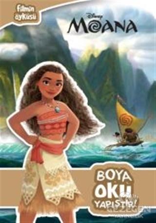 Disney Moana-Boya Oku Yapıştır! Kolektif Doğan Egmont Yayıncılık