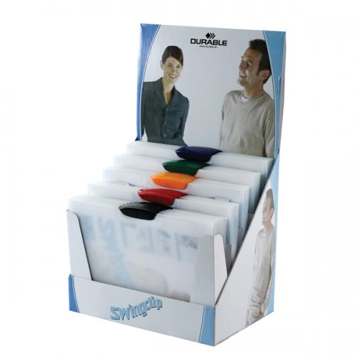 Durable Sıkıştırmalı Dosya SwingClip Ortadan Klipsli 30 Lu 30 SY A4 Karışık Renk 2261-STAND