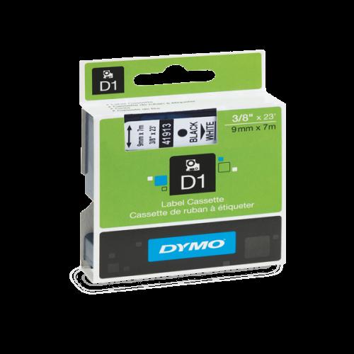 Dymo D1 Şerit Standart 9 MMx7 MT Beyaz Üzerine Siyah 40913-41913  S0720680