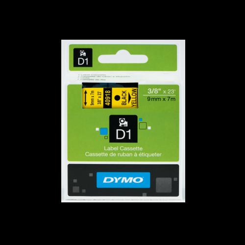 Dymo D1 Şerit Standart 9 MMx7 MT Sarı Üzerine Siyah 40918 S0720730